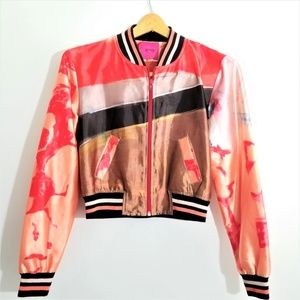 Save the Queen Italian Bomber Jacket Marco Fantini